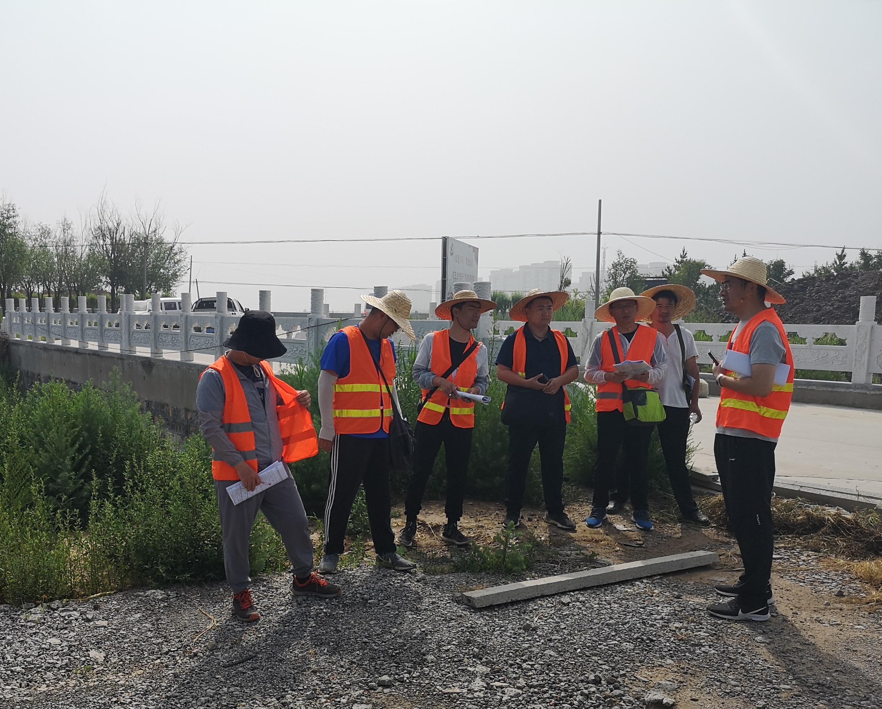 集团公司所属设计院完成南外环及黄河公铁两用桥连接线工程前期方案外业调查
